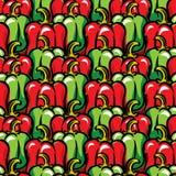 Paprika background Stock Images