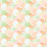 Vector seamless background with repetitive colored spots Royalty Free Stock Photo