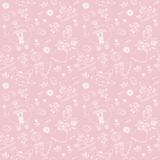 Vector seamless background. Seamless pattern. Stock Photography