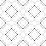 Vector seamless background. Vector seamless background with vintage geometrical pattern for design, print Royalty Free Stock Photo