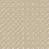 Vector seamless background. White snail on a light brown Stock Photo
