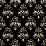 Vector - Seamless baroque background Stock Image