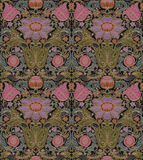 Vector seamless baroque vintage pattern Royalty Free Stock Image