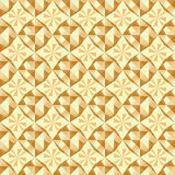vector Seamless beige geometric pattern Stock Photos