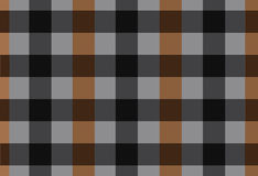 Vector seamless black and brown tartan ,tartan pattern Royalty Free Stock Image