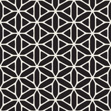 Vector Seamless Black And White Ethnic Geometry Pattern Vector Illustration