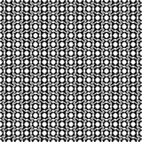 Vector Seamless Black and White Geometric Pattern Background stock photos