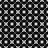 Vector Seamless Black and White geometric pattern Background royalty free stock photo