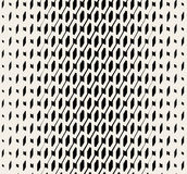 Vector Seamless Black And White Halftone Diadonal Pattern Royalty Free Stock Image