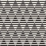 Vector seamless black and white halftone lines grid pattern. Abstract geometric background design. Vector seamless black and white halftone lines grid pattern vector illustration