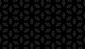 Vector Seamless Black and White home pattern Background. Arts, backgrounds. royalty free stock image