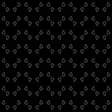 Vector Seamless Black and White home pattern Background. Arts, backgrounds. royalty free stock photo