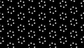 Vector Seamless Black and White home pattern Background stock images