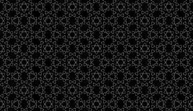 Vector Seamless Black and White home pattern Background. Arts, backgrounds. stock photo