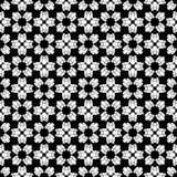 Vector Seamless Black and White people Pattern Background. Background design with texture, geometric pattern, triangles, star, line and circle shapes in artsy stock illustration