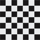 Vector seamless black and white tiles Stock Image