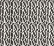 Vector Seamless Black And White Zig Zag Lines Geometric Pattern Stock Photos