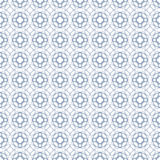 Vector seamless blue guilloche background Stock Photography