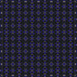 Vector seamless blue ornament background. And geometric pattern Stock Photography