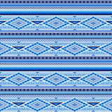 Vector Seamless Blue Pattern Royalty Free Stock Image