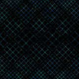 Grid-blue-black Royalty Free Stock Photo