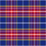 Vector seamless blue and red Scottish tartan Stock Photos