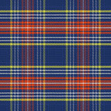 Vector seamless blue and red Scottish tartan Stock Image