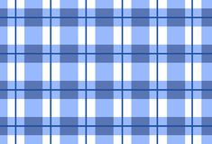 Vector seamless blue tartan ,tartan pattern Stock Images