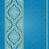 Vector seamless border in Eastern style. Royalty Free Stock Image