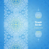 Vector seamless border in Eastern style. Royalty Free Stock Photography