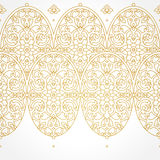 Vector seamless border in Eastern style. Stock Photo