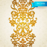 Vector seamless border in Victorian style. Element for design. It can be used for decorating of wedding invitations, greeting cards, decoration for bags and Stock Photography