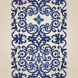 Vector seamless border in Victorian style. Stock Images