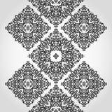 Vector seamless border in Victorian style. Element for design. Place for your text. It can be used for decorating of wedding invitations, greeting cards Stock Image