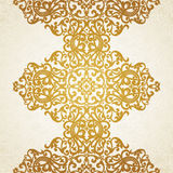 Vector seamless border. In Victorian style. Element for design. You can place the text on empty frame. It can be used for decorating of invitations, greeting Royalty Free Stock Photography