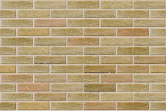 Vector seamless brick wall. Stock Photography
