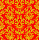 Vector seamless bright classic baroque pattern Royalty Free Stock Image