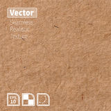 Vector seamless brown rice paper photo texture. Background for your design.  Royalty Free Stock Image