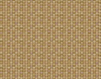 Vector seamless canvas texture. Vector seamless brown canvas texture Royalty Free Stock Photography