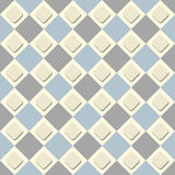 Vector seamless checkered background. A simple illustration Royalty Free Stock Photos