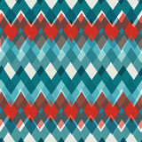 Vector seamless Chevron Pattern. Fashion zigzag in Royalty Free Stock Photography
