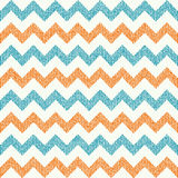 Vector Seamless chevron pattern on grunge Royalty Free Stock Photo