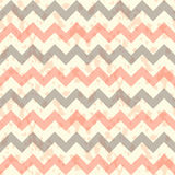 Vector Seamless chevron pattern on linen turquoise Royalty Free Stock Photos