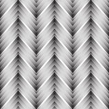 Vector seamless chevron pattern. Zigzag background in black and white. Simple texture in art deco style Royalty Free Stock Photography