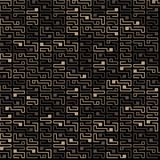 Vector seamless chip pattern on a dark background. royalty free illustration