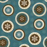 Vector seamless christmas background Stock Photography