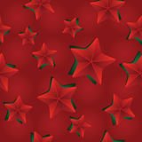 Vector seamless Christmas pattern with clipped stars. Holiday theme. For wrapping paper, wallpapers, web site background, textile Royalty Free Stock Image