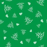 Vector seamless christmas pattern Royalty Free Stock Images
