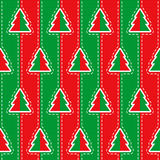 Vector seamless Christmas pattern Royalty Free Stock Image