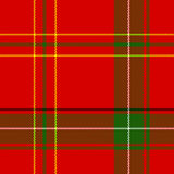 Vector Seamless Christmas Plaid stock illustration